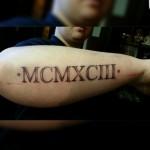 Letterfree tattoo Mischa
