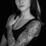 Sleeve tattoo girl 2