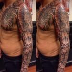 Sleeve tattoo men