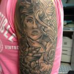 Tattoo arm Frank