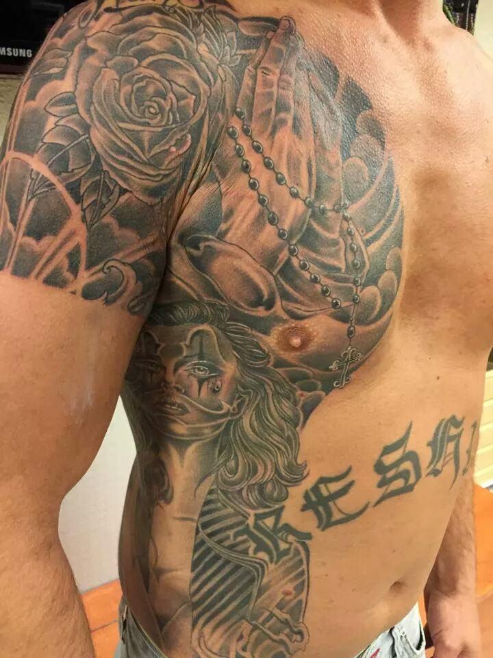 Tattoo Creatief Buik Frank Jims Jims