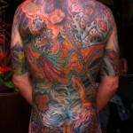 Tattoo kleur rug Jimmy