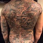 Tattoo men back