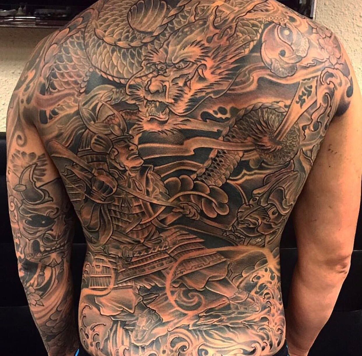 Tattoo Men Back Jims Jims