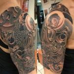 Tattoo men shoulder