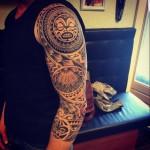 Tattoo sleeve arm Carmen