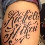 Tattoo Tekst